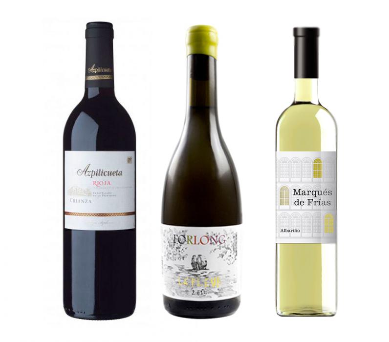 Rioja Azpilicueta, Forlong de la Tierra de Cádiz y albariño Marqués de Frías